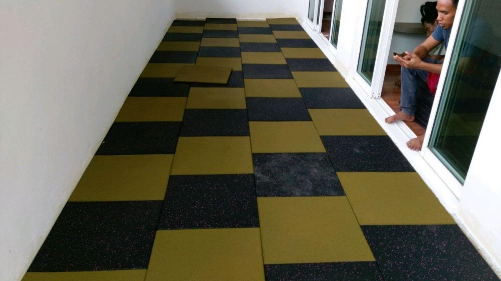 Rubber Flooring 15mm / 20mm / 25mm